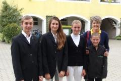 Reiterpass- und Reiternadelprüfung 2014